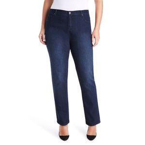 Gloria Vanderbilt Amanda Classic Tapered Jeans 22W